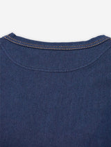 Indigo Kersey Stretch T-Shirt One Wash