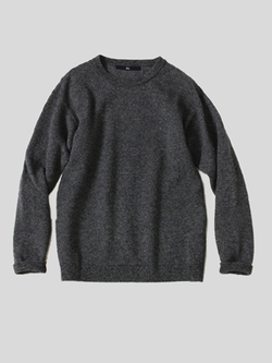 Yorimoku Lambswool Knit Urake Sweater