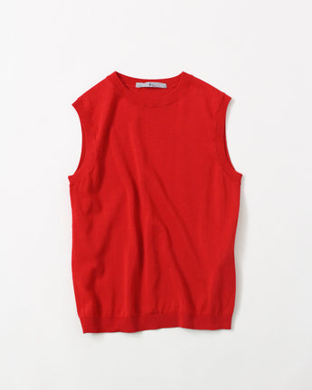 Organic Cotton Knit Vest