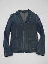 Indigo Kersey Stretch Jacket (Distressed)