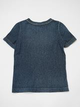 Indigo Kersey Stretch T-Shirt (Distressed)
