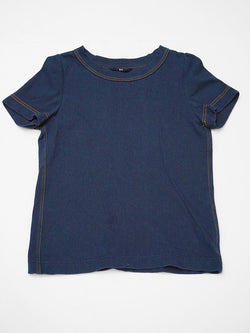 Indigo Kersey Stretch T-Shirt (One Wash)