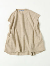 Boiled Float Wool Poncho Vest