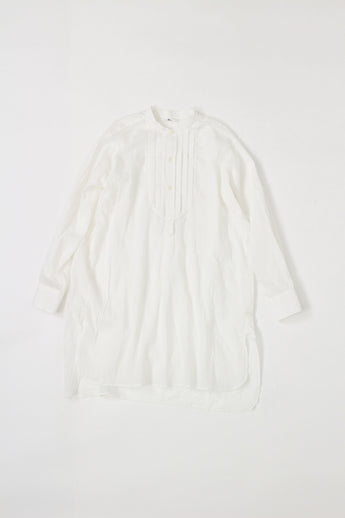 Feather Khadi Tuck Googoo Shirt