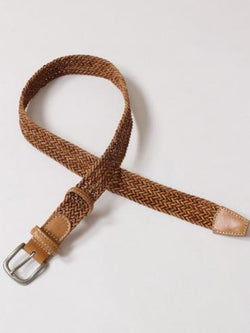 Leather Braided Belt