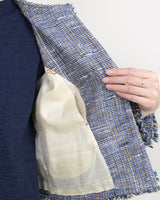 Indigo Khadi Tweed Jacket
