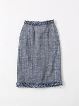 Ai Khadi Tweed Skirt