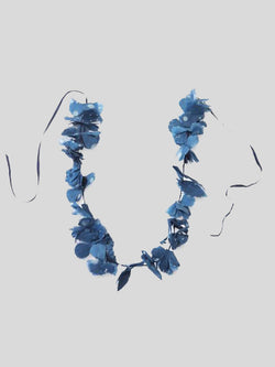 Ai Indigo Lei Necklace