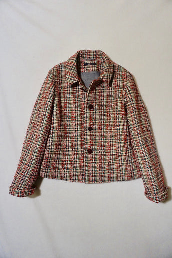 Caramel Tweed Jacket