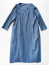 Indigo Hakeme Umahiko Dress