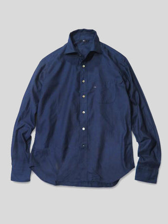 Indigo Fine Thread Oxford Shirt