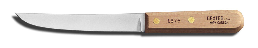 6 inch wide boning knife wood handle