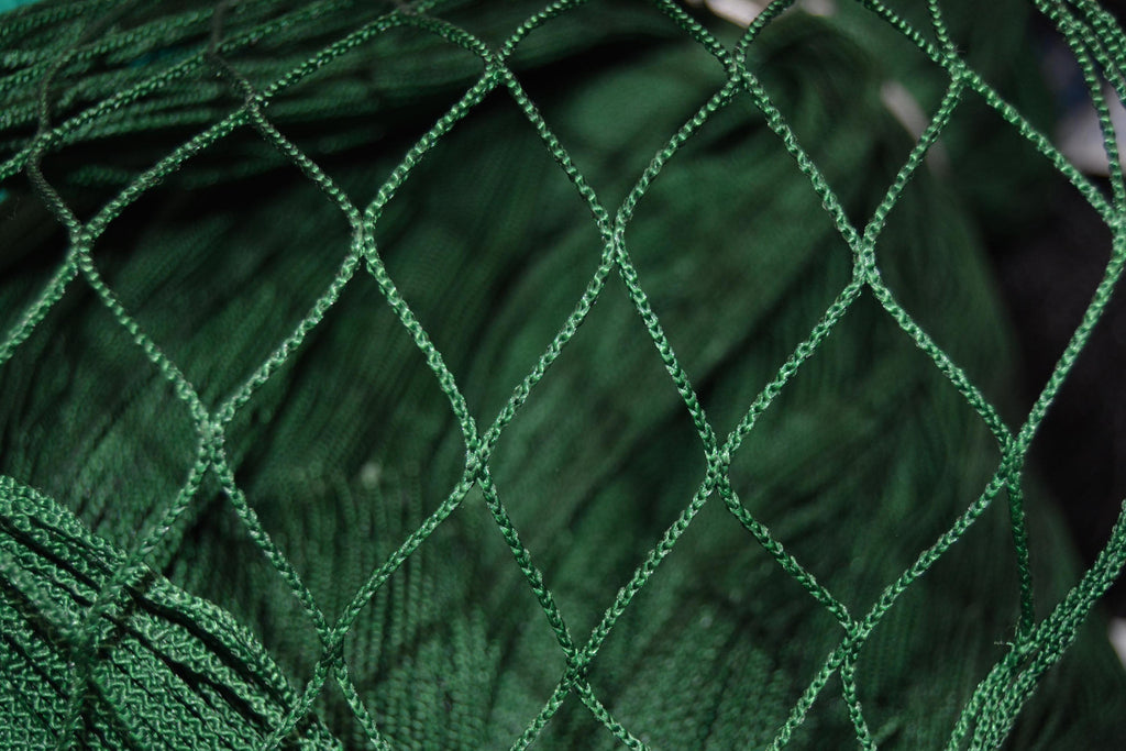 Knotless Nylon Green Heading Netting