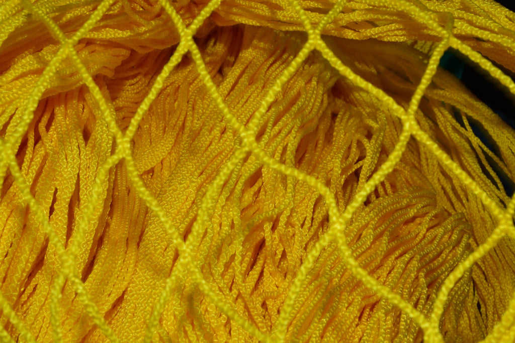 Knotless Nylon Yellow Heading Netting