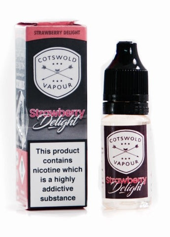 Strawberry Delight - Cotswold Vapour