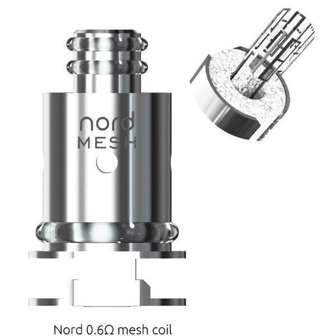 Nord 0.6ohms mesh coil