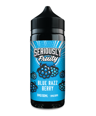 Seriously fruity blue razz berry