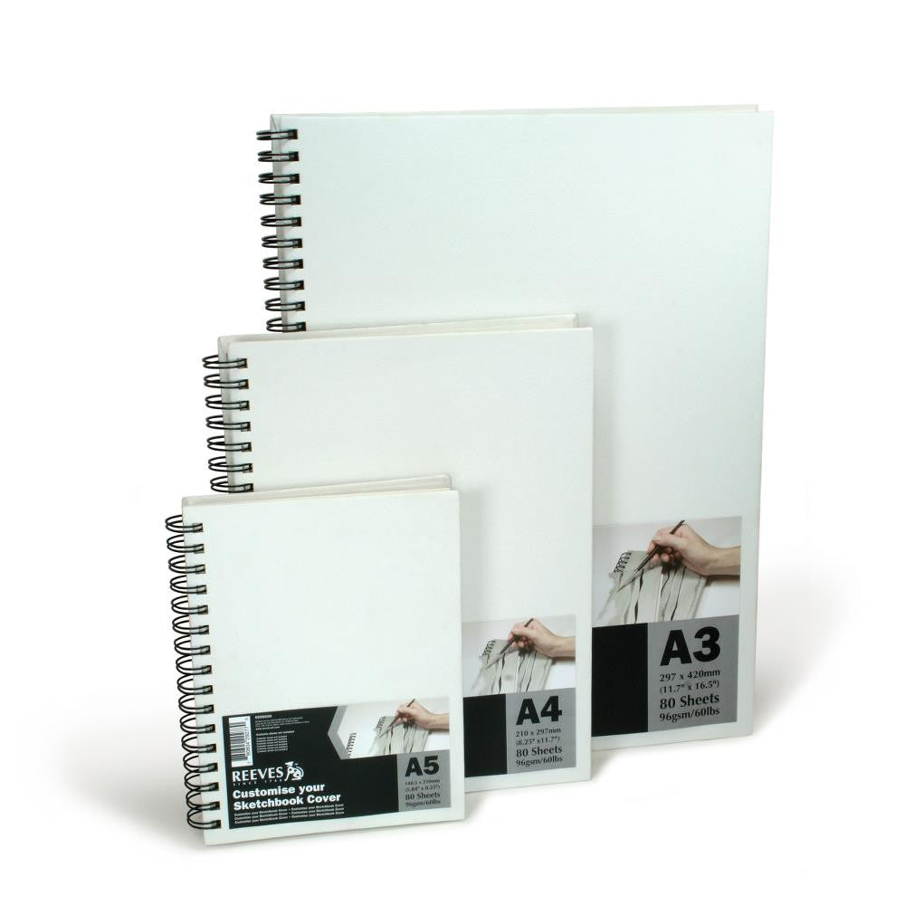 Reeves Canvas Covered Sketchbook