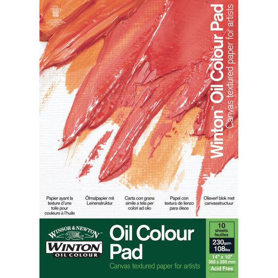 Winsor & Newton Winton Oil Colour Pad