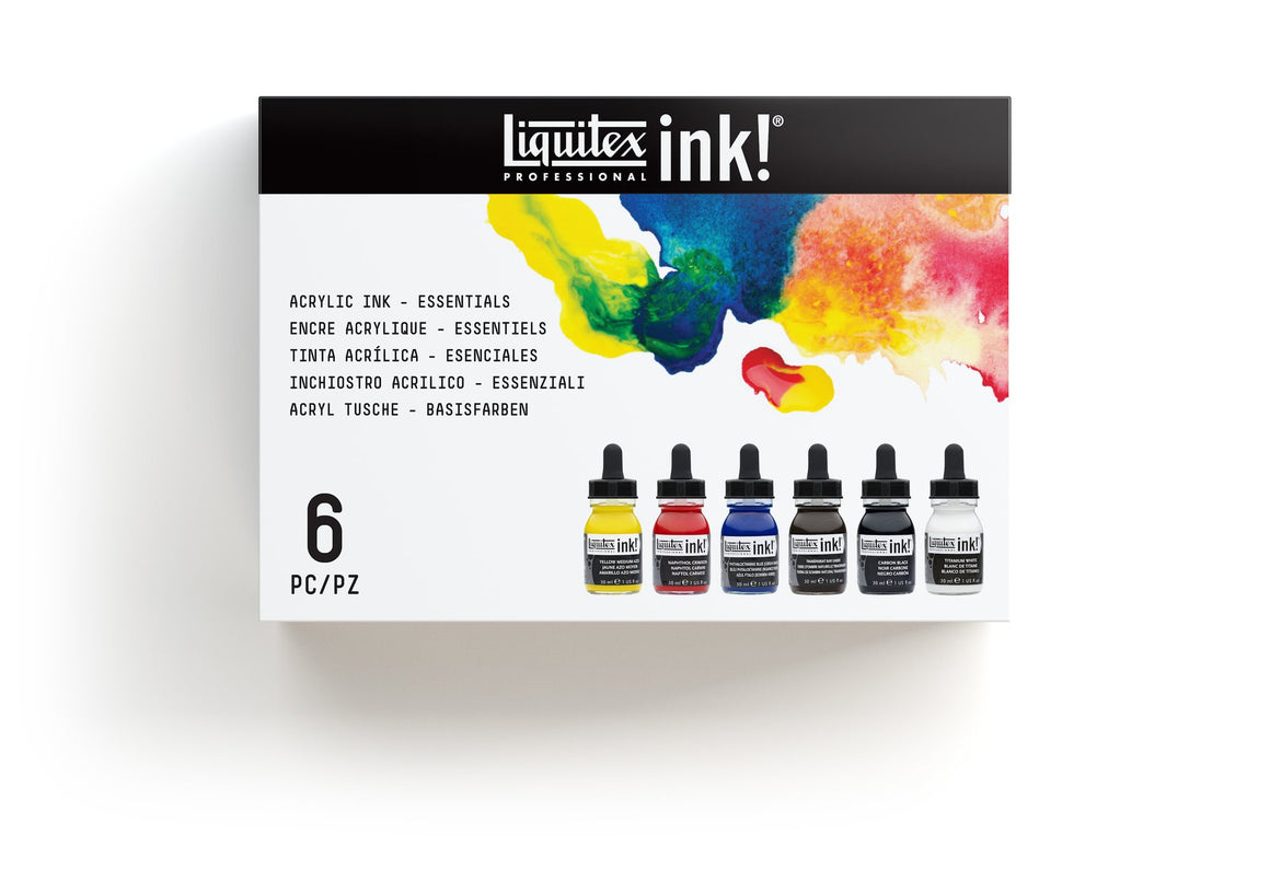 Liquitex Essential Ink Set 6x30ml
