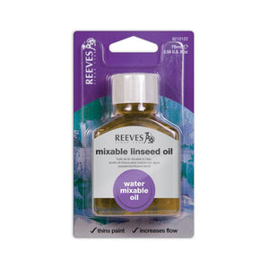 Reeves Water-Mixable Linseed Oil