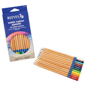 Reeves Water Colour Pencil Set