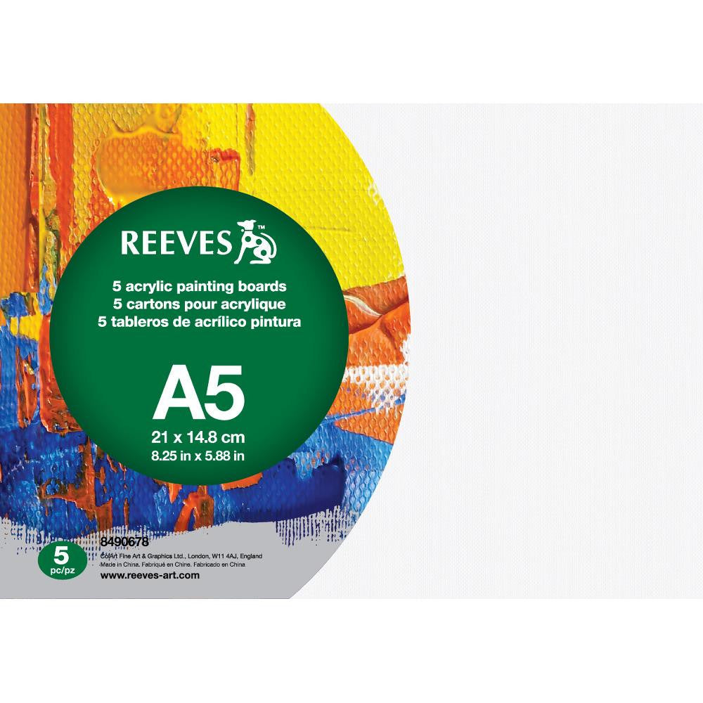 Reeves Acrylic Painting Boards