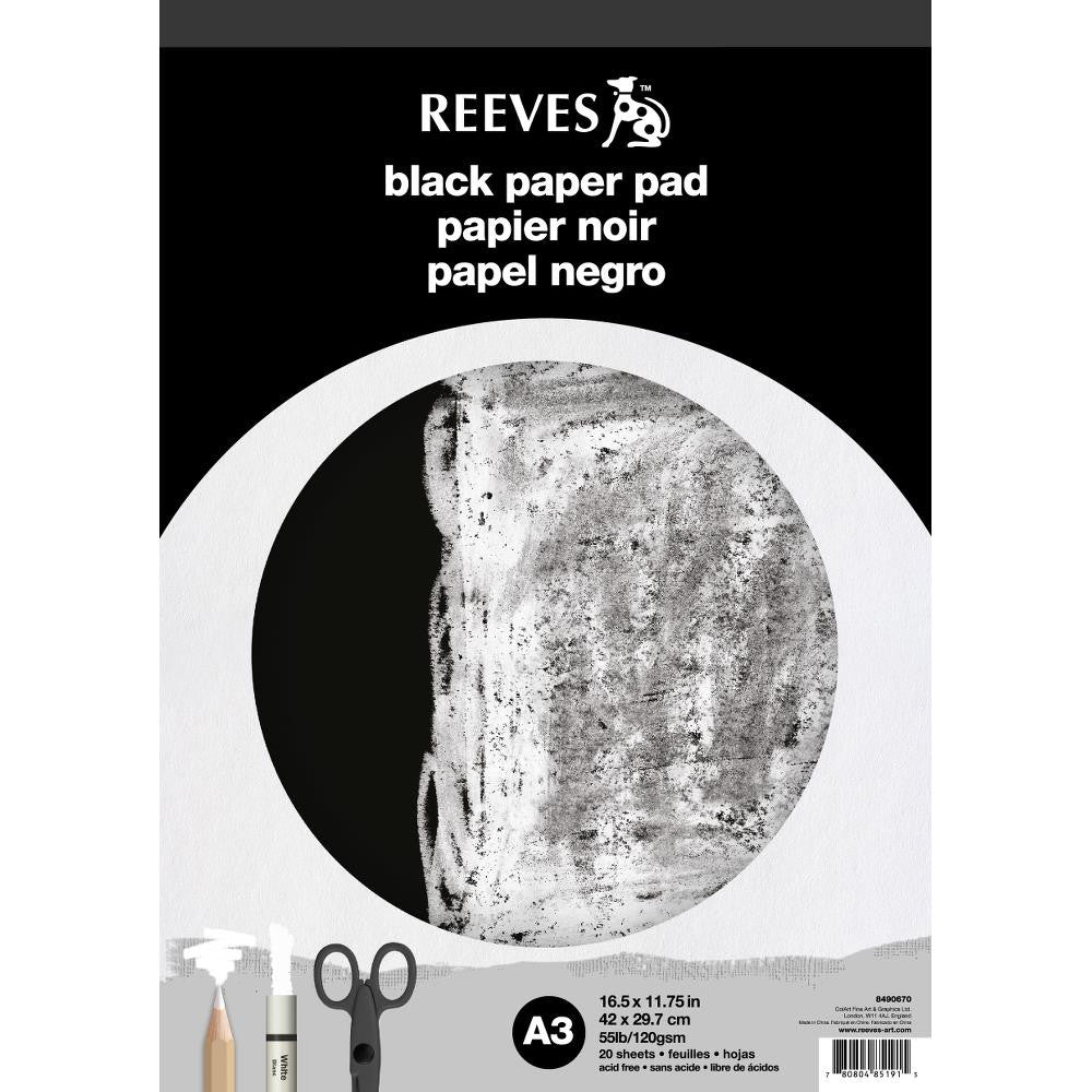 Reeves Black Paper Pad