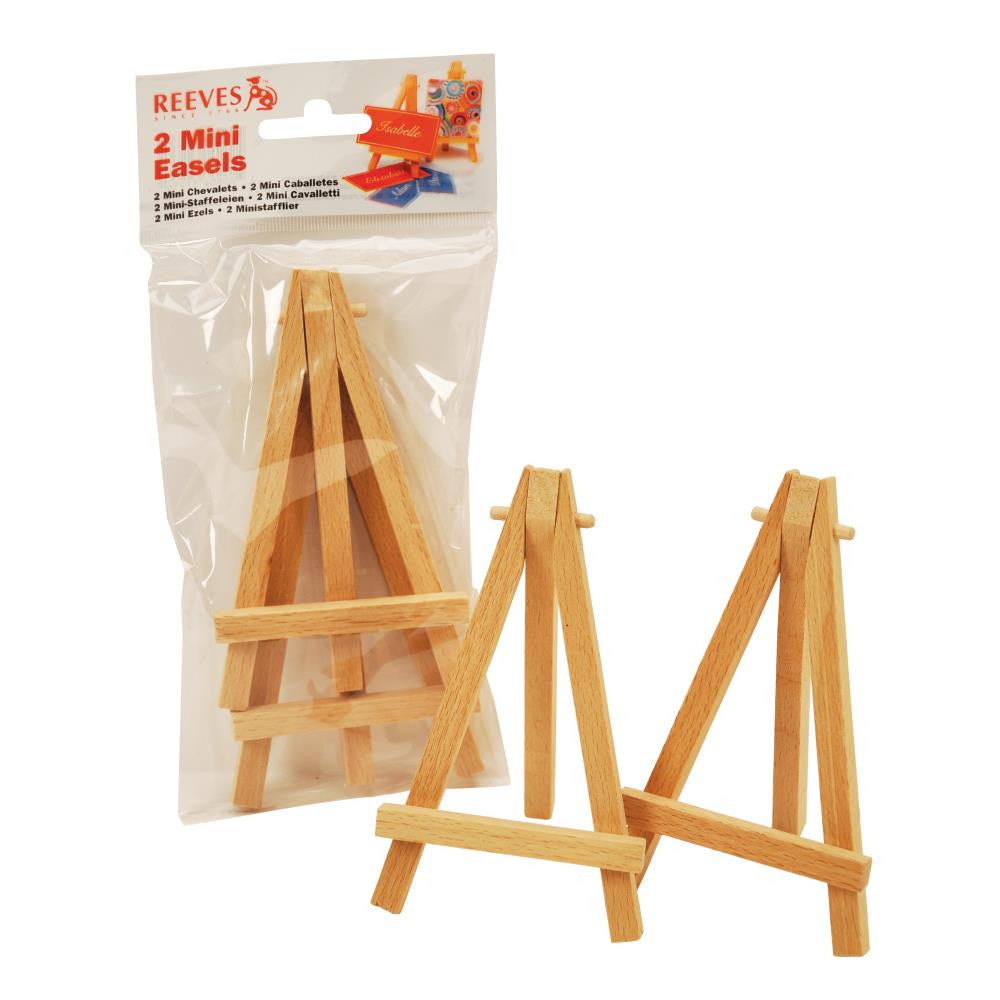 Reeves Mini Easel Twin Pack Set