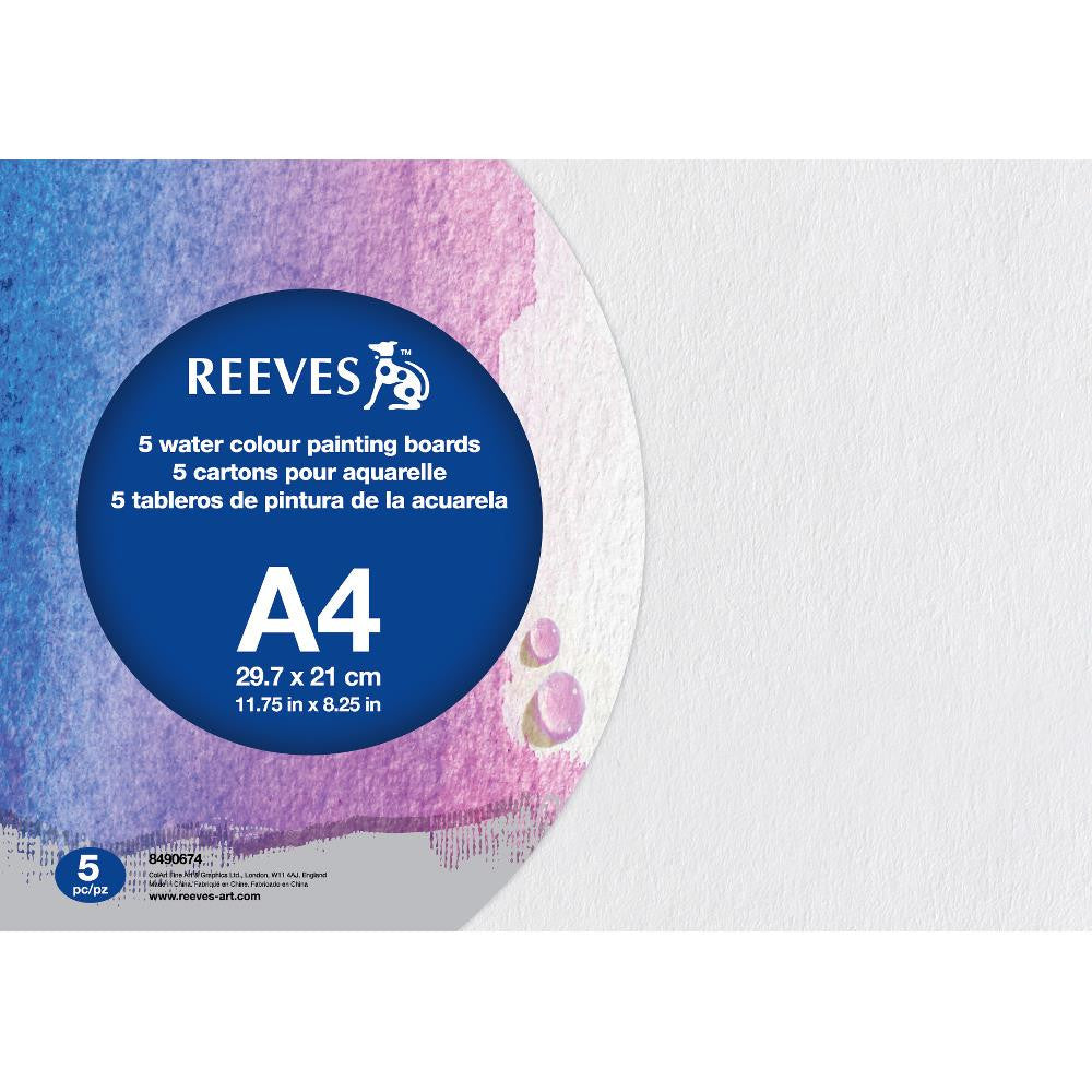 Reeves Water Colour Paint Boards