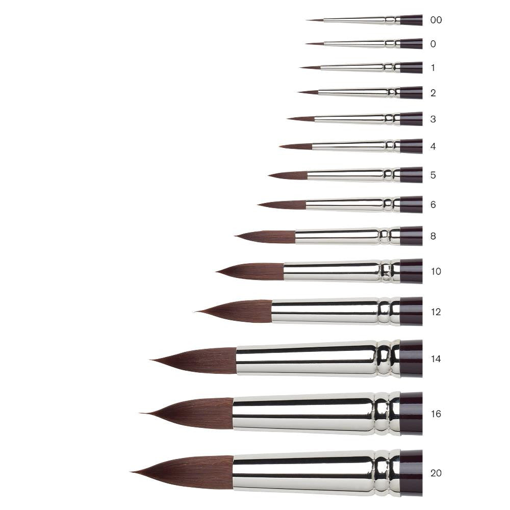 Winsor & Newton Galeria Brush - Round - Short Handle