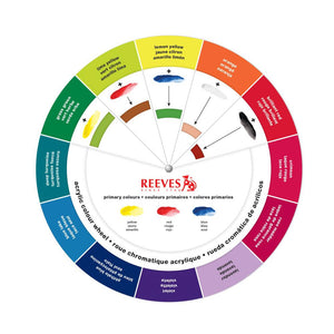 Reeves Acrylic Colour Mixing Wheel