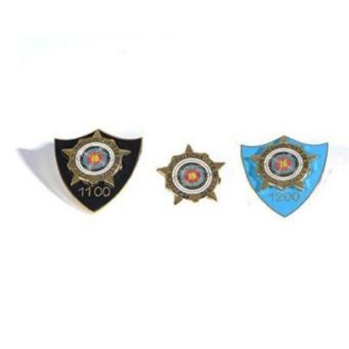 World Archery Star Award Badges – Recurve