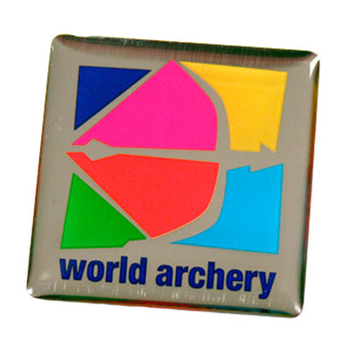 World Archery Pin Badge