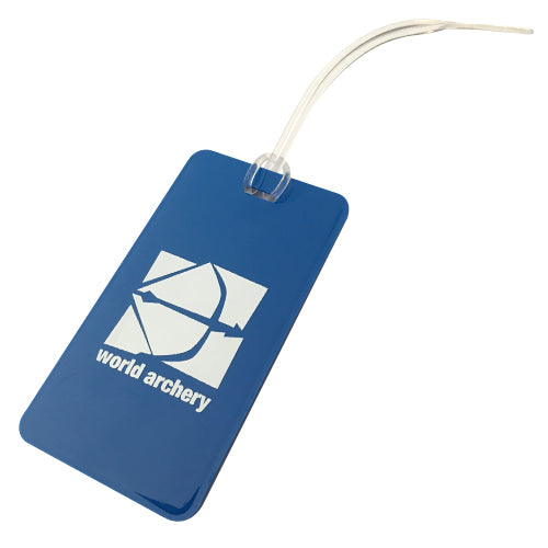 World Archery Luggage Tag