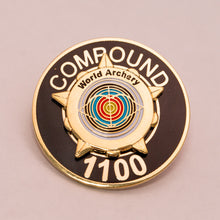 World Archery Star Award Badges – Compound