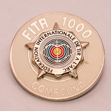 World Archery Silver Star Award Badges – Compound