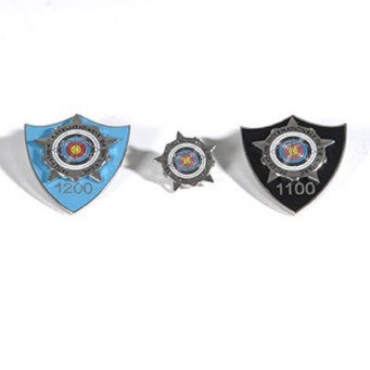 World Archery Silver Star Award Badges – Recurve