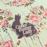Crazy Bunny Lady - zwhart.be