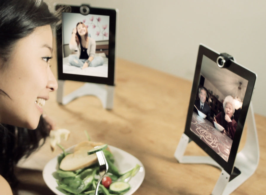 Werkt met YoooM, Skype of Facetime software