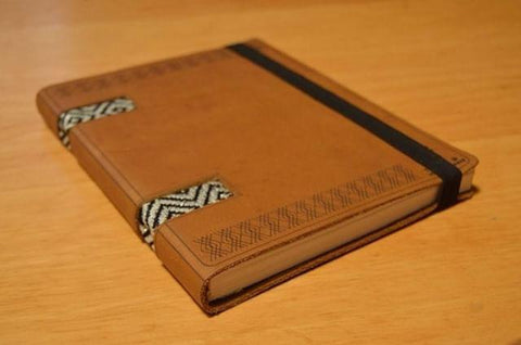 Leather Notebook, Size A5 From Tibeb Leather Works