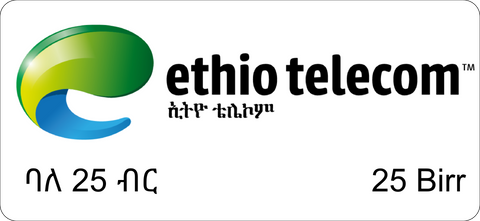 Ethio telecom Mobile Card