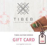 TIBEB LEATHER WORKS GIFT CARD