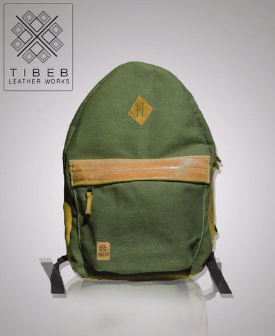 Simple Bagpack from TIBEB LETHER WORKS