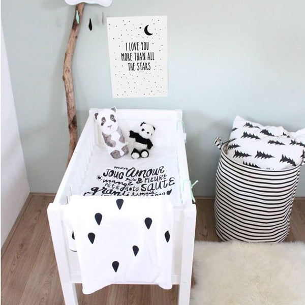 The Gender Neutral Nursery - Why Choose Monochrome?