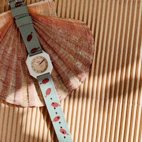 Mini Kyomo Children's Watch Strap - Fishies