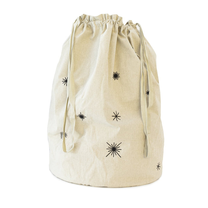 Ferm Living Star Christmas Bag - Sand