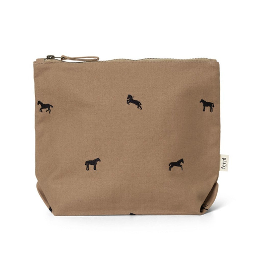 Ferm Living Horse Embroidery Bag - Large