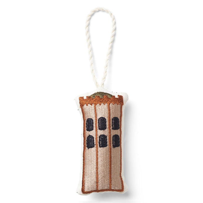 Ferm Living Embroidered Christmas Tree Decoration - The Round Tower