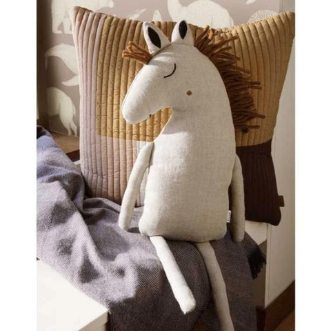 Ferm Living Horse Cushion - Natural